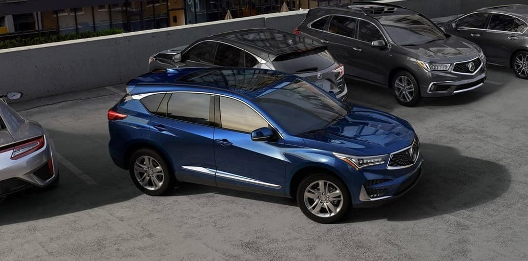 2019 Acura RDX Adaptive Parking