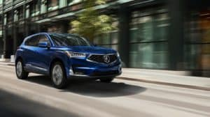 2019 Acura RDX Blue Front Angle