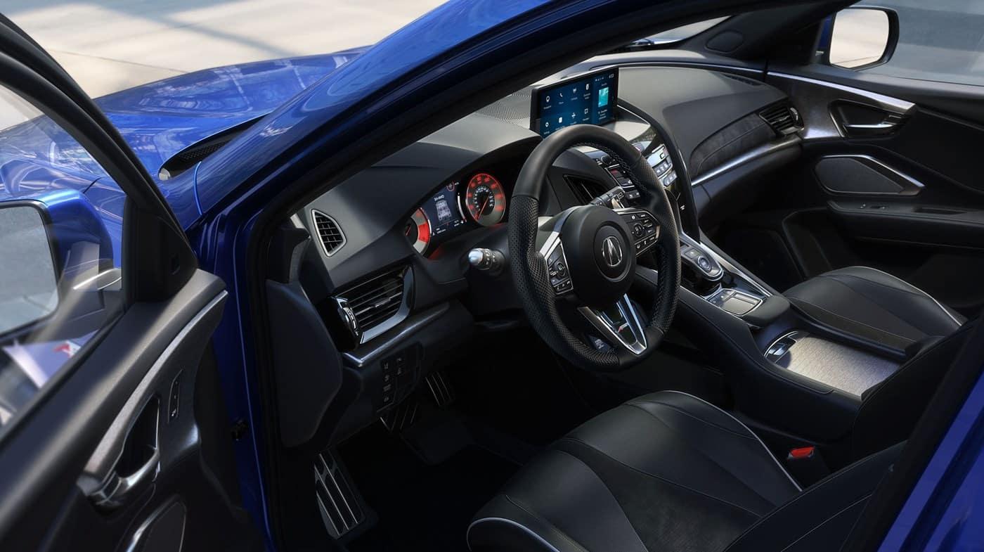 2019 Acura RDX Blue Open Door