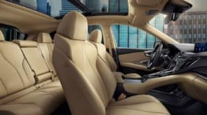2019 Acura RDX Front And Back Seats