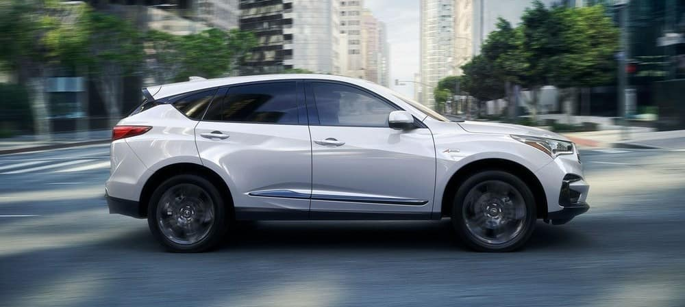 2019 Acura RDX White Side Angle