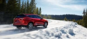2019 Acura RDX Winter Road