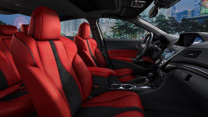 2019 Acura ILX Red Seats