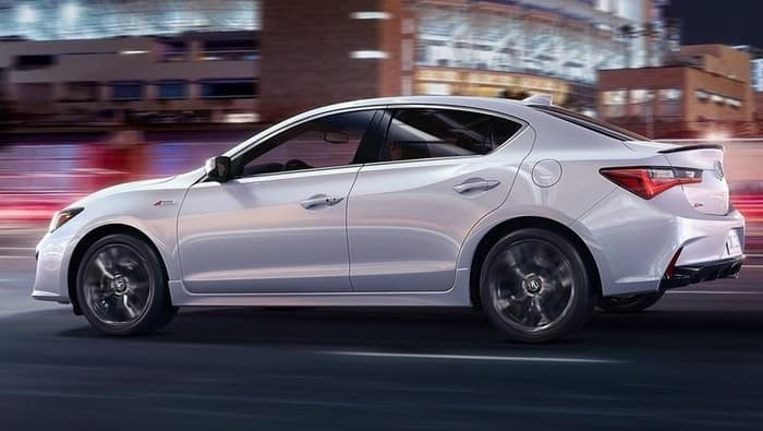 2019 Acura ILX White Side View