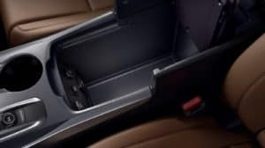 2019 Acura MDX Arm Rest Cargo Space