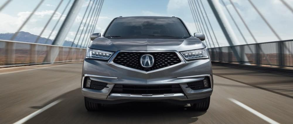 2019 Acura MDX Front View Driving