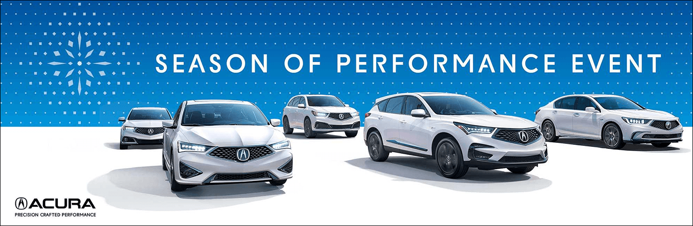 2018 Acura Season of Performance Event from Your Kansas City Acura Dealers