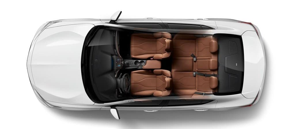 2019 Acura ILX Cargo Passenger Space