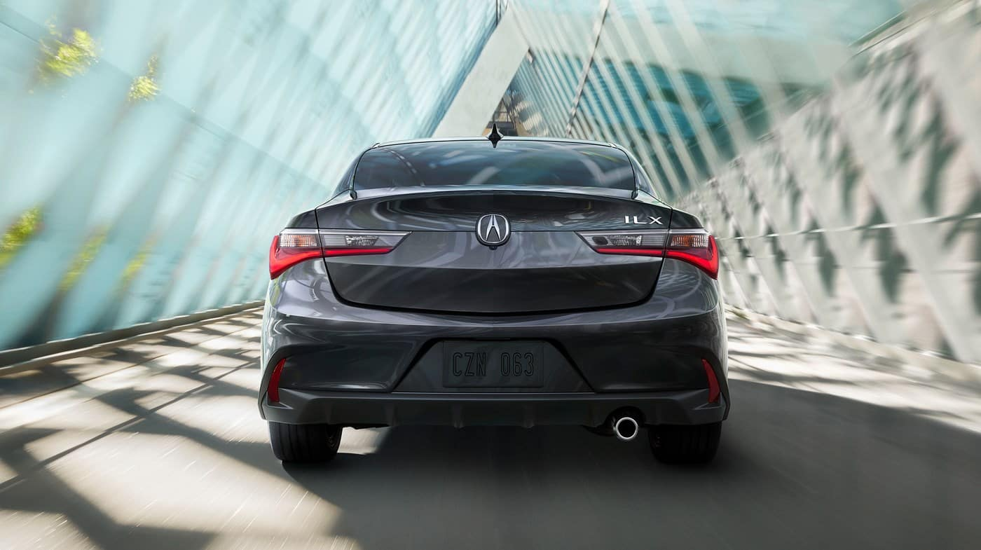 2019 Acura ILX Gray Back View