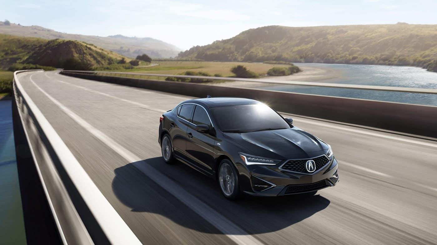2019 Acura ILX Gray Black Driving