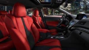 2019 Acura ILX Red Interior