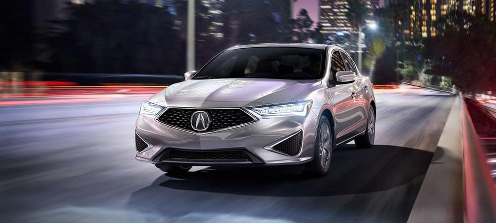 2019 Acura ILX Night Driving