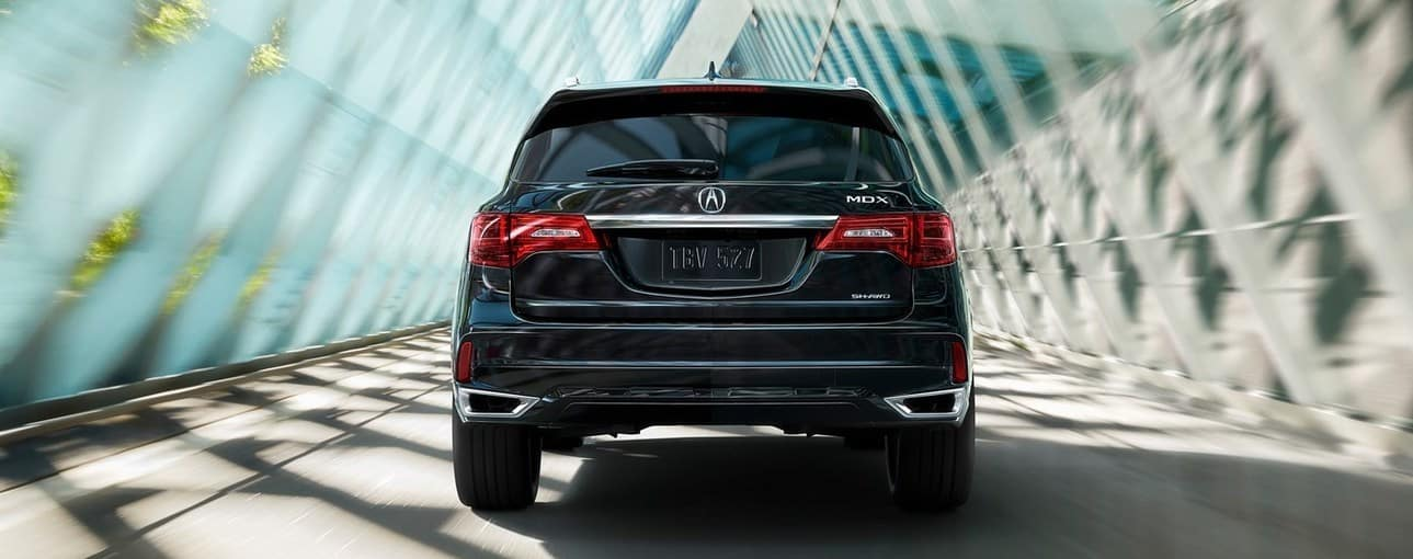 2019 Acura MDX Black Rear View