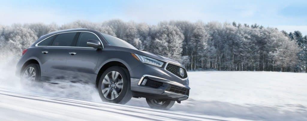 2019 Acura MDX Winter Driving
