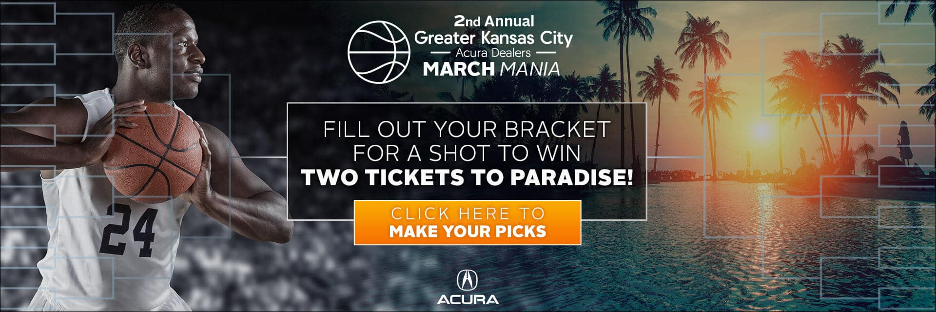 Kansas City Acura Dealers 2nd Annual March Mania Slider