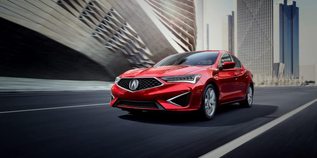 2019 Acura ILX Performance Red Pearl Front Angle HP Slide