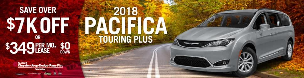 Chrysler Pacifica Lease >> Chrysler Pacifica Lease Savings Ken Garff West Valley Cdjr