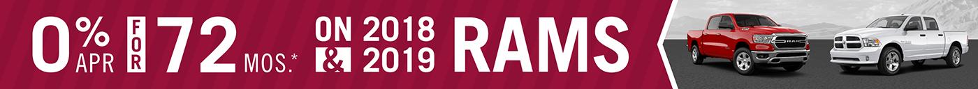 0% APR RAMs banner
