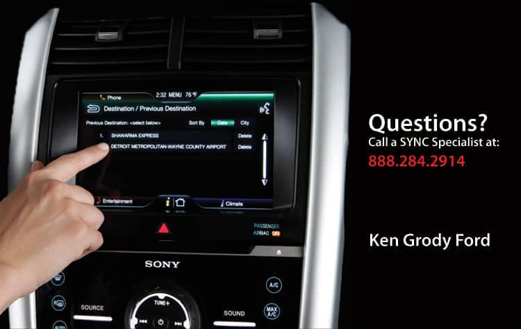 Available Ford Sync Owner Seminars