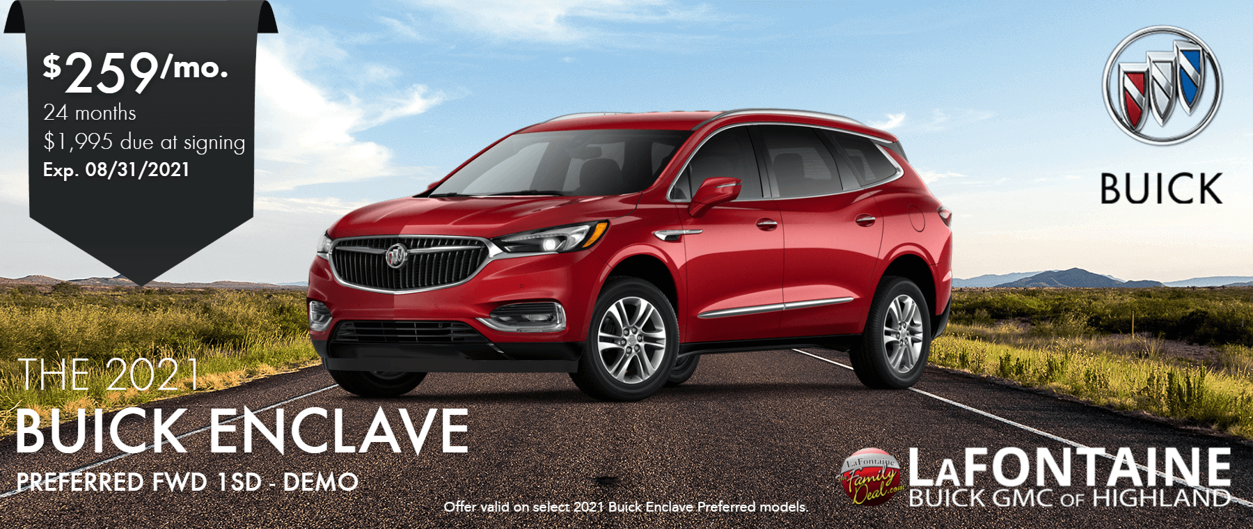 2021_Buick_Enclave_Preferred_Lafontaine of Highland