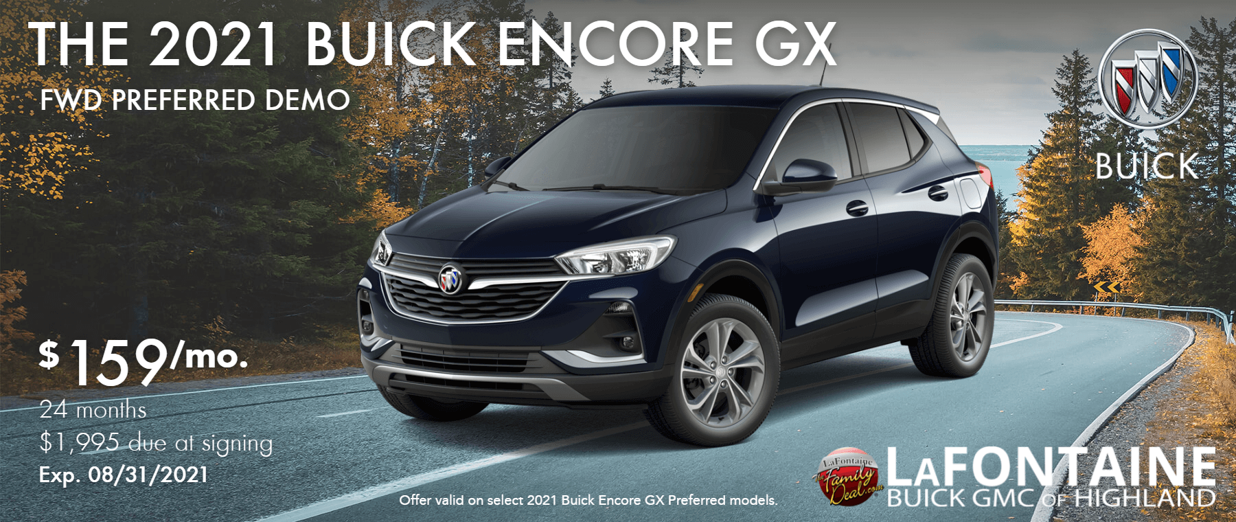 2021_Buick_Encore GX_Preferred_LaFontaine of Highland