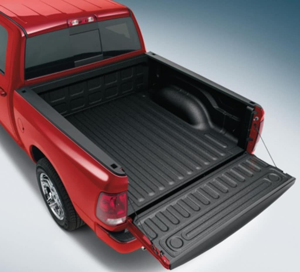 Ram Spray-in Truck Bed Liner