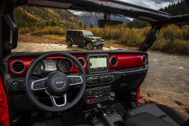 all-new 2018 Jeep Wrangler JL interior