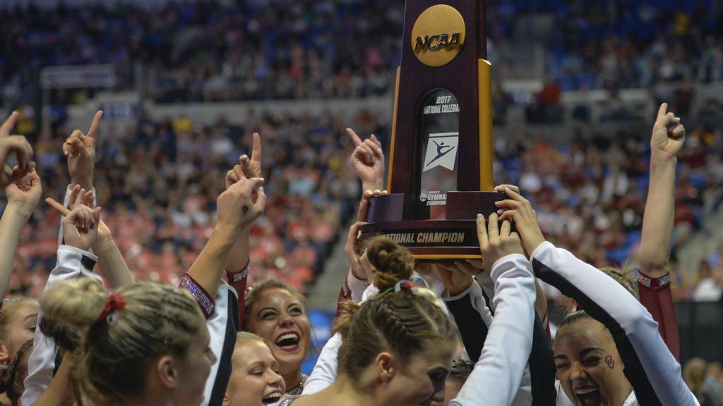 Oklahoma Sooners women's gymnastics OU NCAA national champions