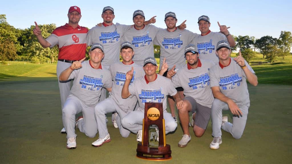 Oklahoma Sooners golf NCAA national championship OU