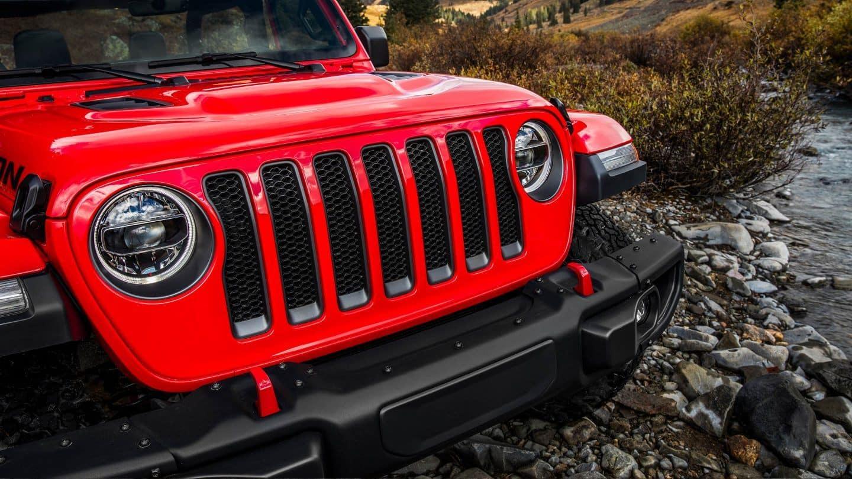 Jeep Wrangler JL grille
