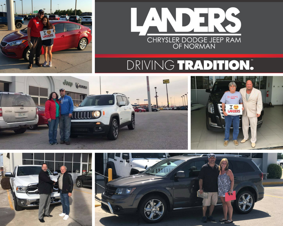 Landers CDJR of Norman customers