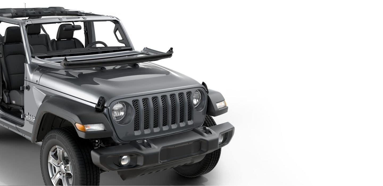 Jeep Wrangler JL foldable winshield