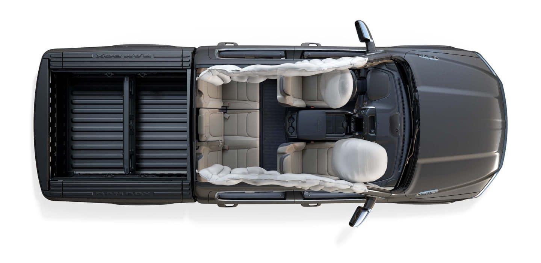 2019 ram 1500 airbags