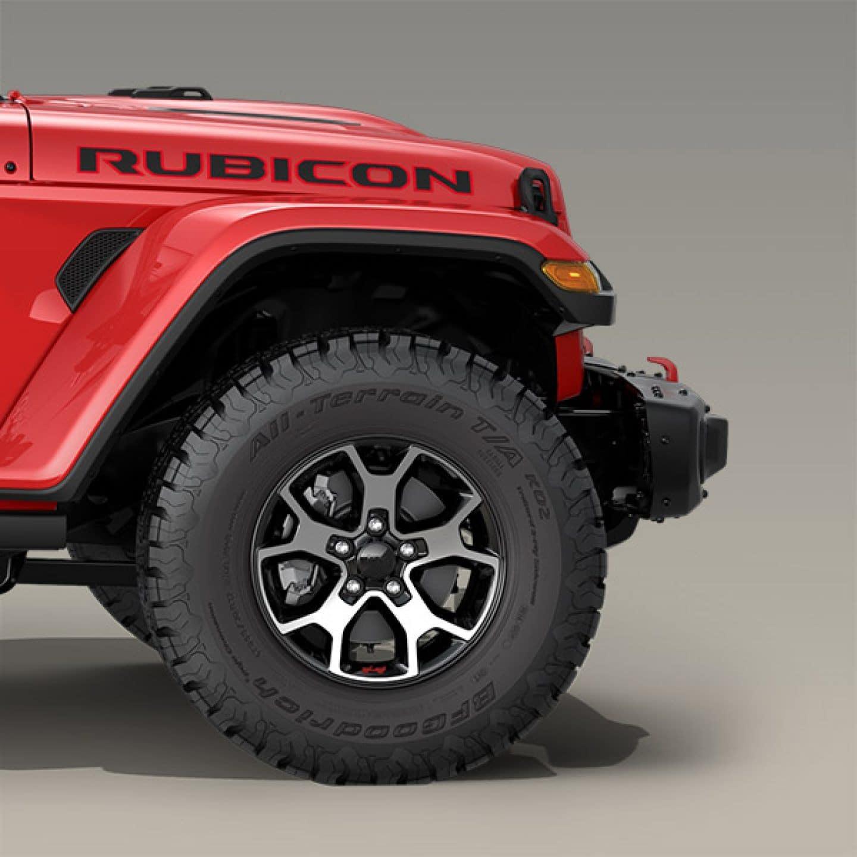 Jeep Wrangler JL all-terrain tires
