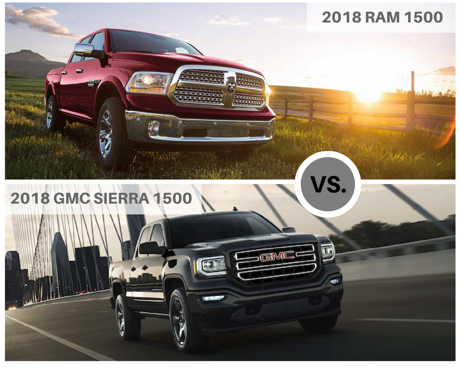 Perfect Ram 1500 Vs GMC Sierra