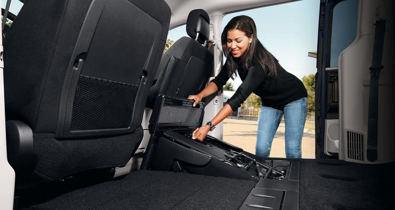 2018 Dodge Grand Caravan Stow 'N Go Seating Storage