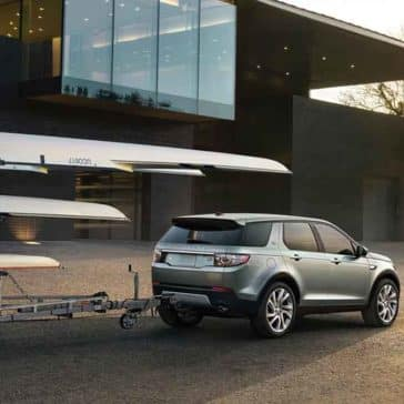 2018 Land Rover Discovery Sport towing