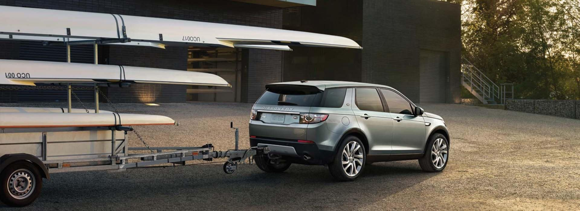 2018 Land Rover Discovery Sport Towing a Trailer