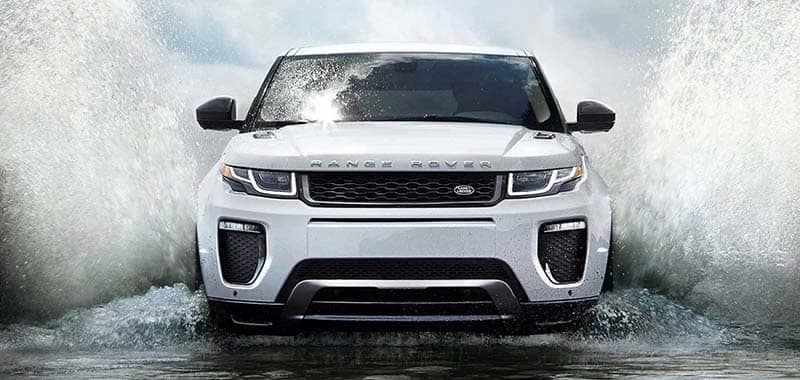 2018 Land Rover Range Rover Evoque Driving Through Water