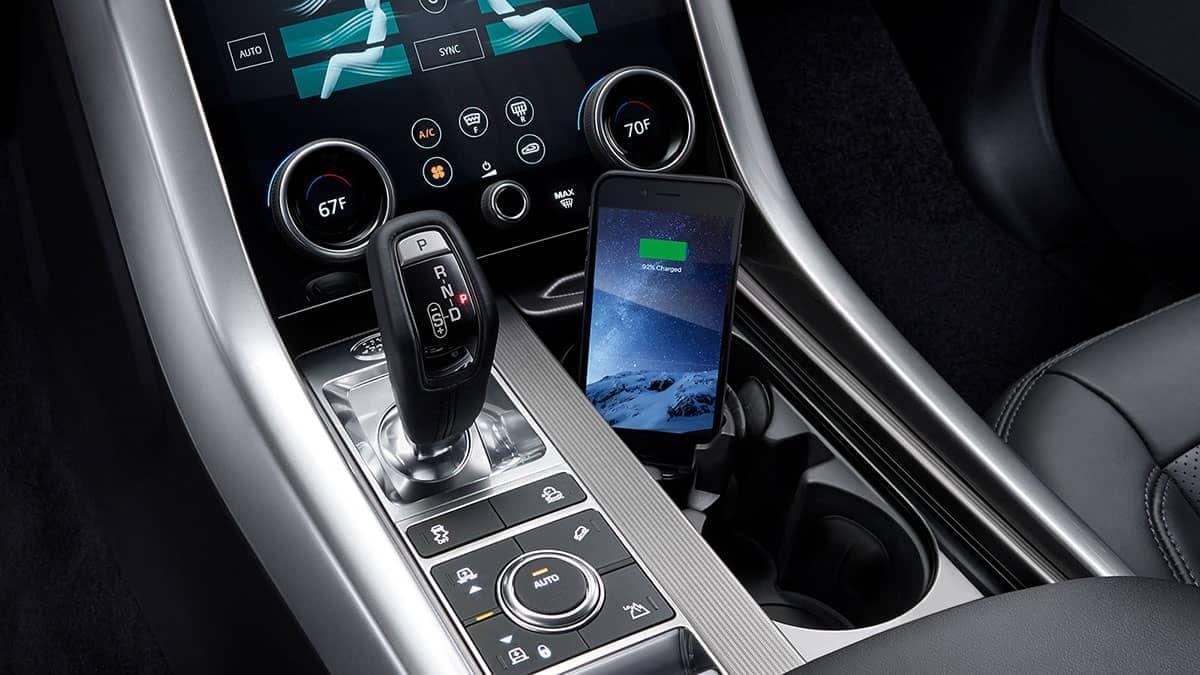 2019 Land Rover Range Rover Sport Interior Features