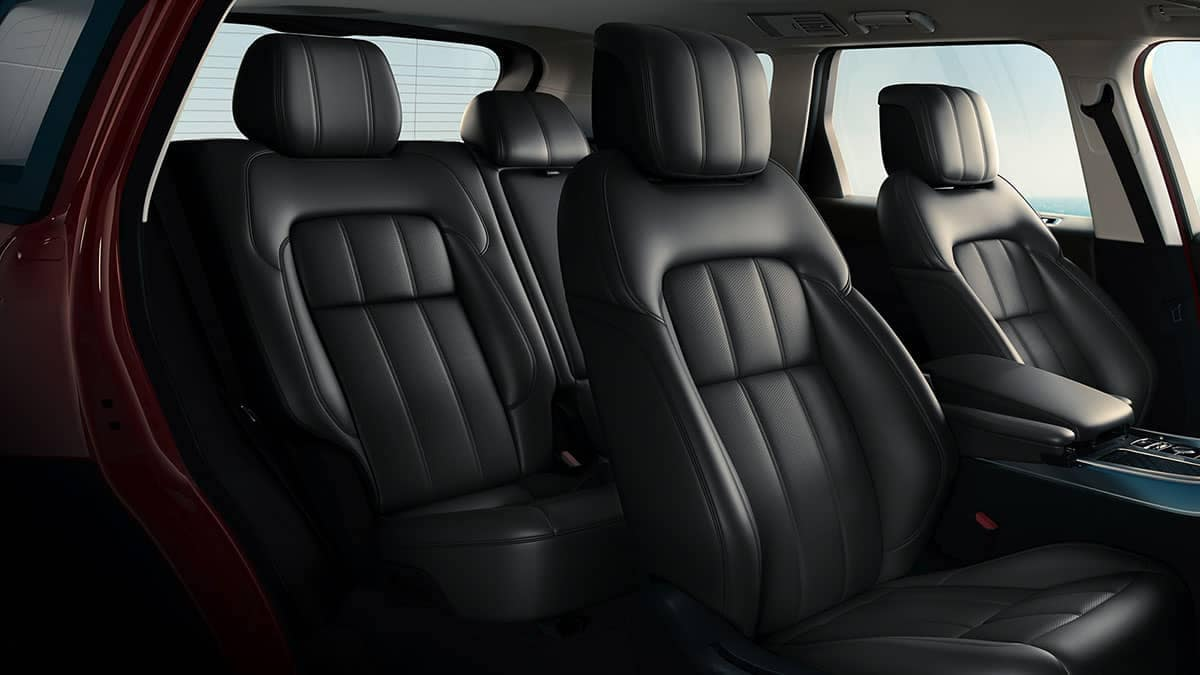 2019 Land Rover Range Rover Sport Interior Seating
