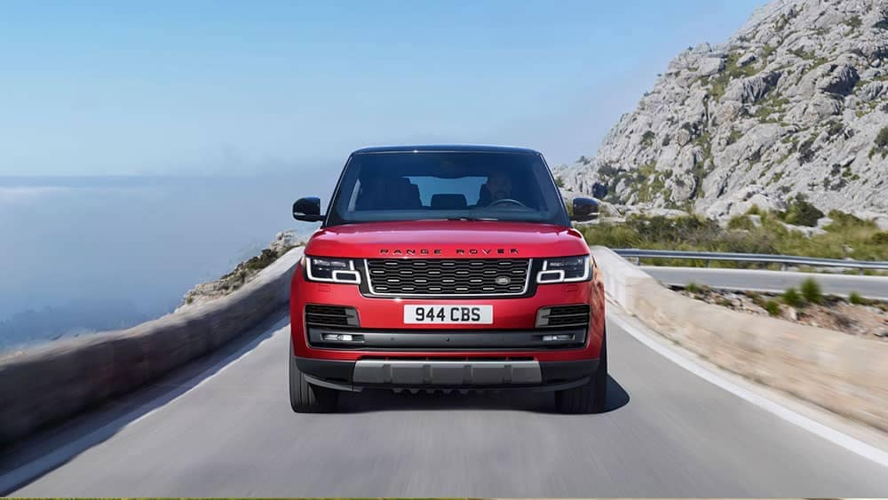 2019 Range Rover front view