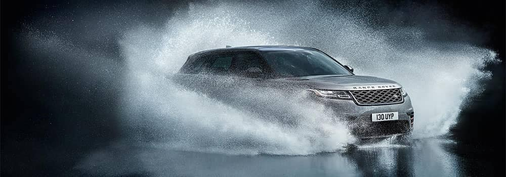 Land Rover Velar Off-Roading Through Water
