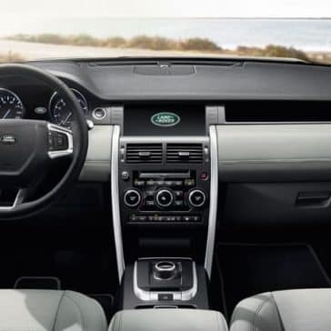 2019 Land Rover Discovery Sport front interior