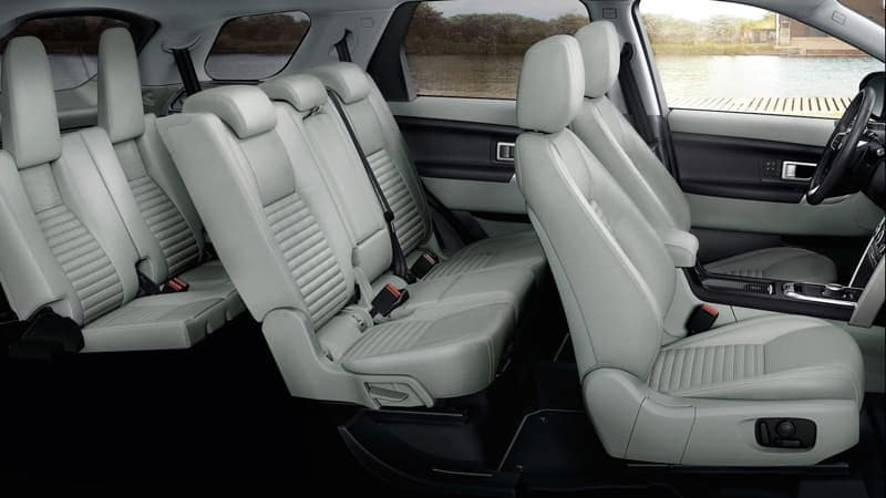 2019 Land Rover Discovery Sport seating