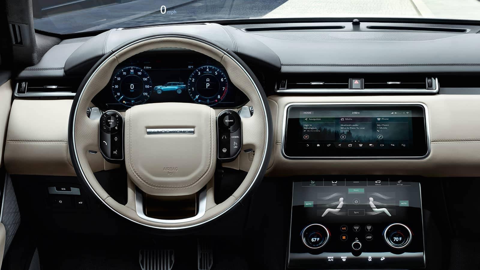 2019 Land Rover Range Rover Velar driver view