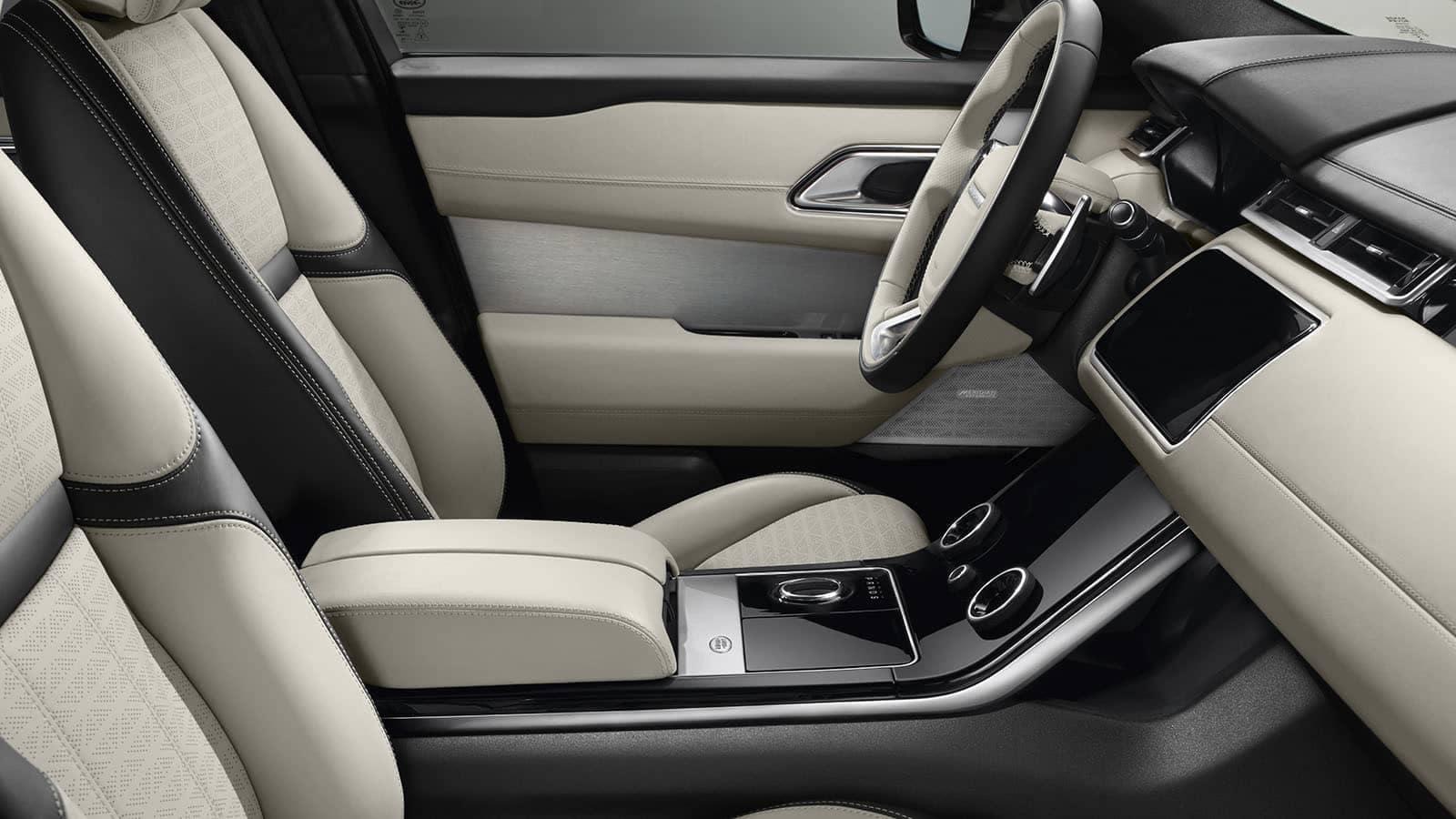 2019 Land Rover Range Rover Velar front seating