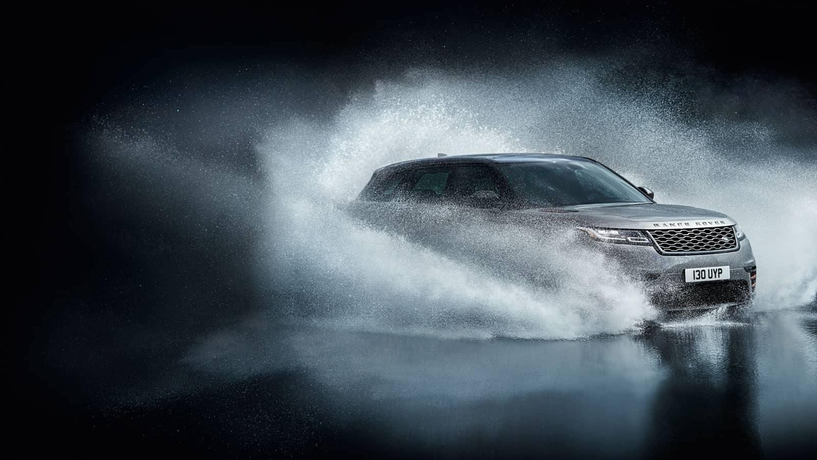 2019 Land Rover Range Rover Velar in water