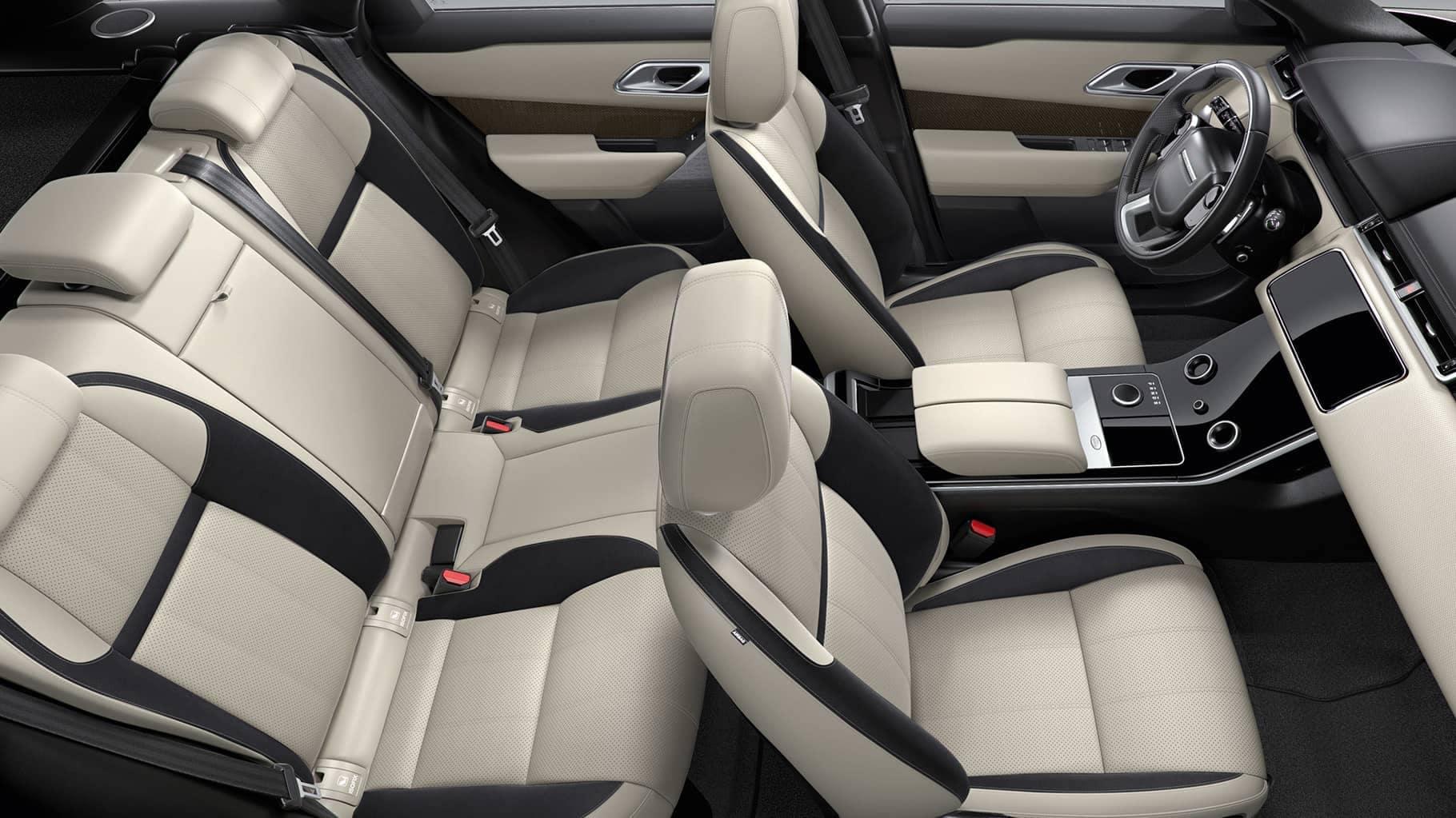 2019 Land Rover Range Rover Velar seating
