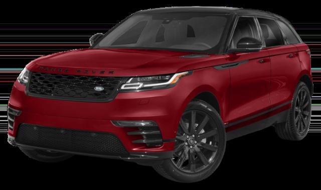 Red Range Rover Velar